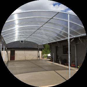 shade purpose polycarbonate sheet