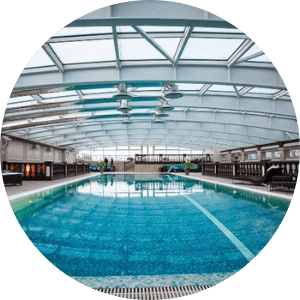 swimming pool roofing sheets