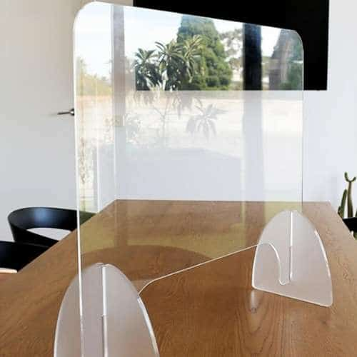 Sneeze Guard-The Glass Shield (Counter Protector Barrier)