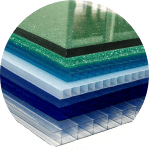 Solid and Multiwall Polycarbonate sheets