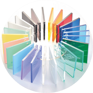 Acrylic sheets in all colors