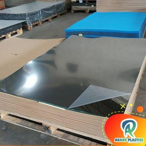 silver acrylic mirror sheet