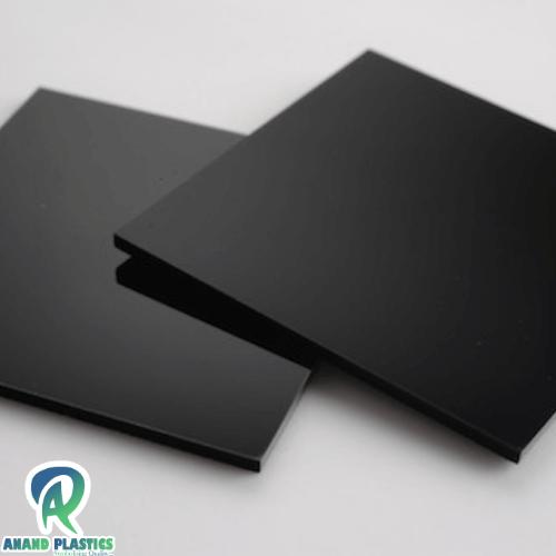 black acrylic sheet price